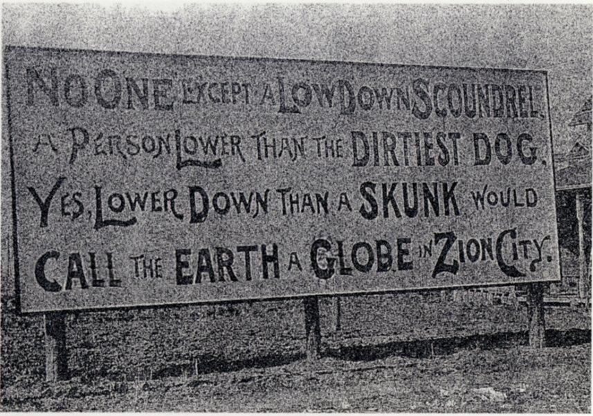 Zion Flat Earth